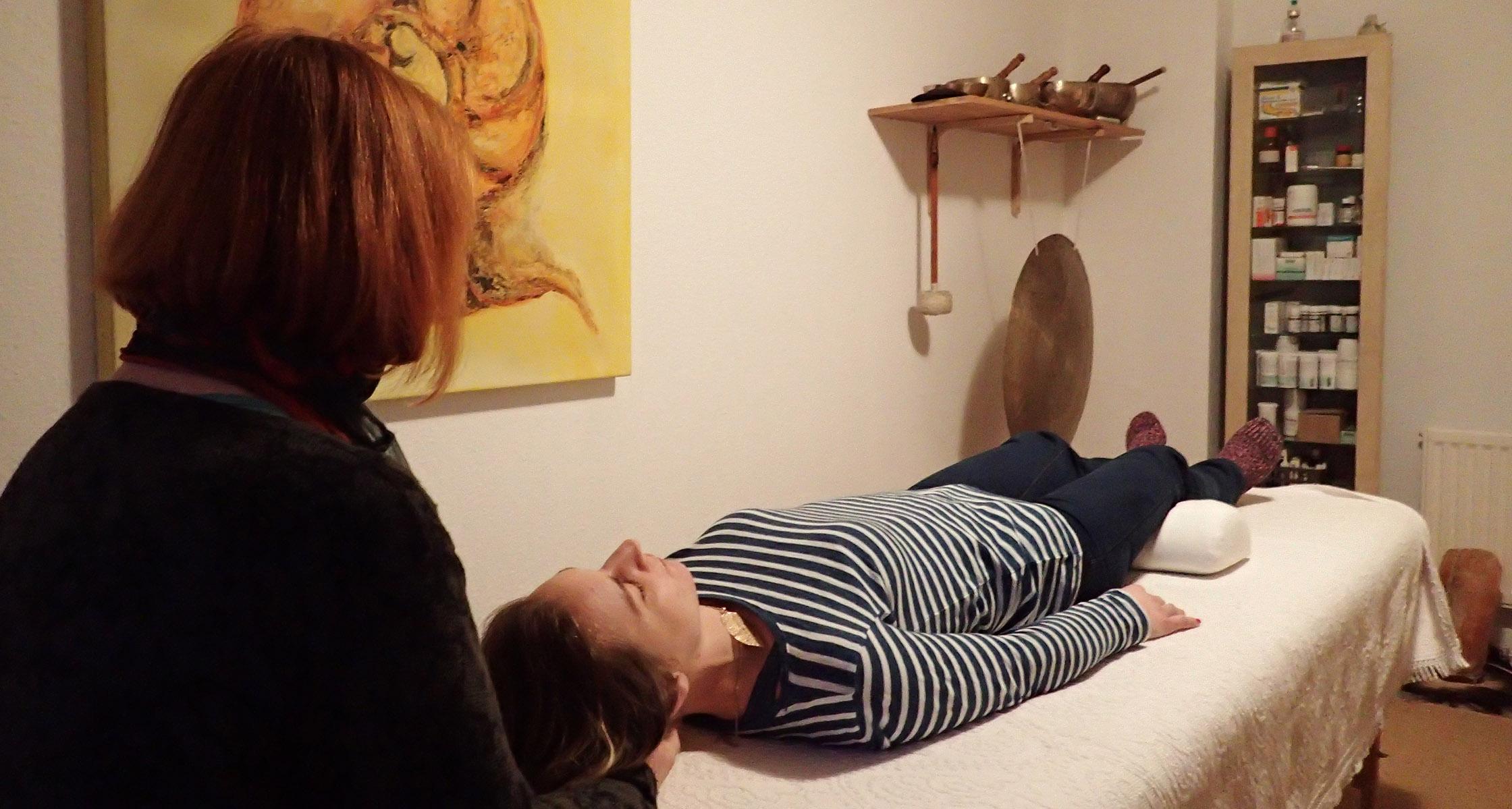 Behandlungen, osteopathische Behandlung